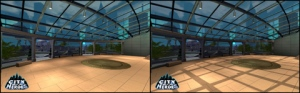 City of Heroes / Villains: Ultra Mode before and after.
