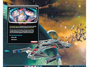 Screenshot of Perpetual's Star Trek Online. The only one they released, too.