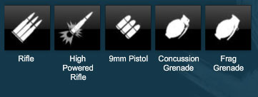 Some of APB's ammo types
