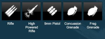 Some of APB's ammo types