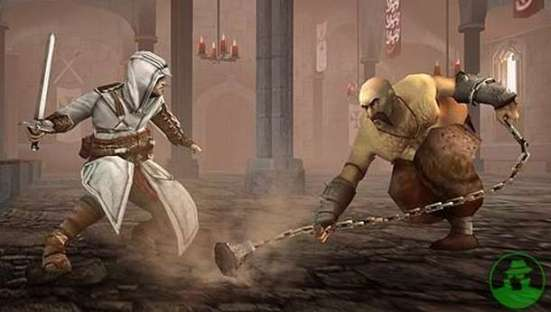 Assassin versus pirate image from Assassin's Creed: Bloodlines