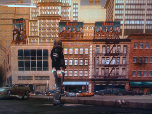 The A-Team film appears on in-game billboards in Prototype.
