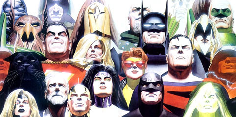DC characters from Kingdom Come