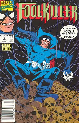 Cover to a Foolkiller comic