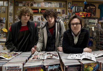 "Some comic book fans - from the movie ""Kick-Ass"""