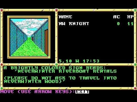 Screenshot from Neverwinter Nights (AOL)