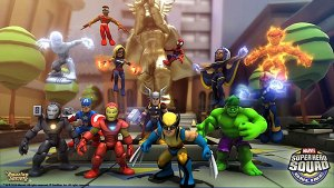 Super Hero Squad Online picture - group shot