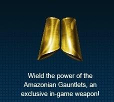 Amazon's pre-order bonus - Amazonian Gauntlets