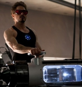 Tony Stark in Iron Man 2