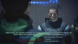 Mass Effect 2's dialogue wheel