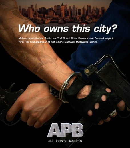 All Points Bulletin / APB ad