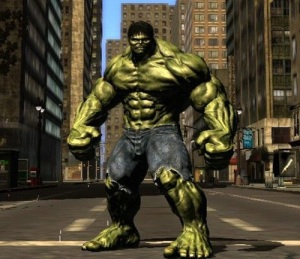 The Incredible Hulk from one video game incarnation