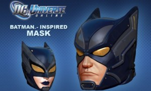 DCUO Mask - Batman Inspired