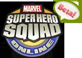 Super Hero Squad Online Beta logo