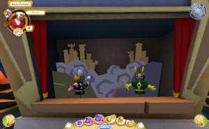Super Hero Squad Online - Asgard's puppet show