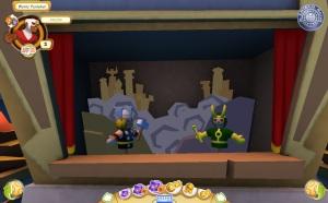 Super Hero Squad Online - Asgard's puppet show