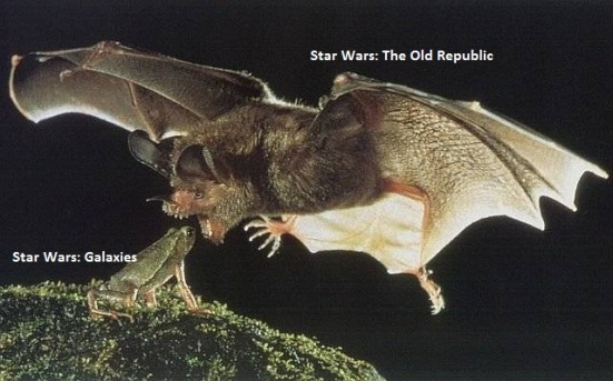 SWG Frog vs SWOR Bat