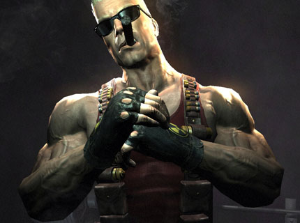 Duke Nukem. Not a parody.