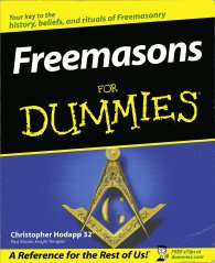 Freemasons for Dummies, from those squillionaires who make For Dummies books
