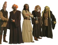 Jedi Masters, all cloaked up.