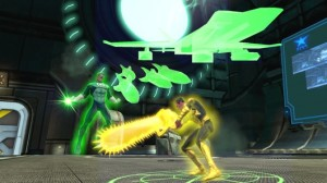 DCUO's version of Hal Jordan versus Sinestro