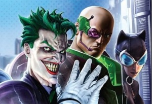 DCUO's Big Three villains are Joker, Lex Luthor and Circe, even though Catwoman appears in all the promos.