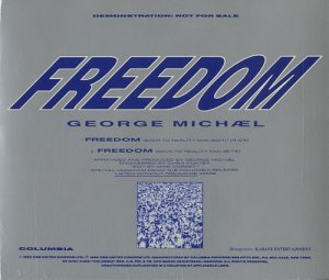 Album cover to George Michael's Freedom