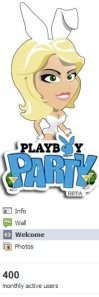 Playboy Party only had 400 monthly users by the time it closed.