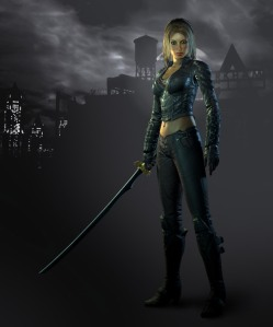 Talia al Ghul from Batman: Arkham City
