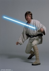 "Luke Skywalker from ""A New Hope"""
