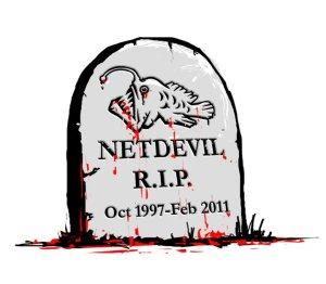 NetDevil's gravestone