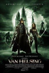 A poster for Van Helsing