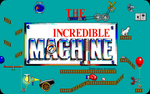 Intro screen to The Incredible Machine