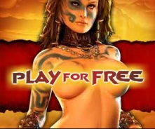 Age of Conan Ad - topless woman and play for free