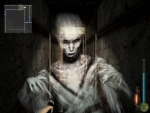 A screenshot from Fatal Frame 2
