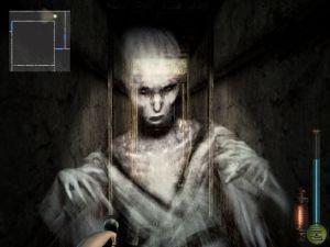 A screenshot from Fatal Frame 2