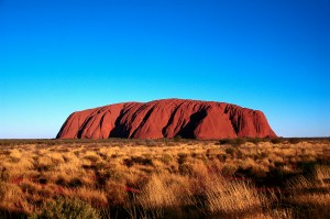 A picture of Uluru