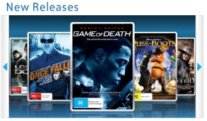 What I saw when I first loaded up the Telstra Bigpond Movies site - not encouraging.