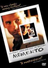 The cover art to Memento