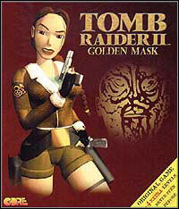 The box for Tomb Raider II: Golden Mask