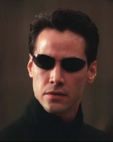 It's Keanu Reeves as Neo in The Matrix