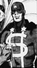 "Dollar Bill from ""Watchmen""."