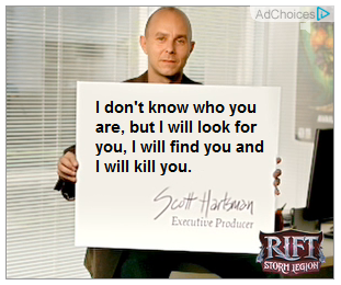 """The card says, """"I don't know who you are, but I will look for you, I will find you and I will kill you."""