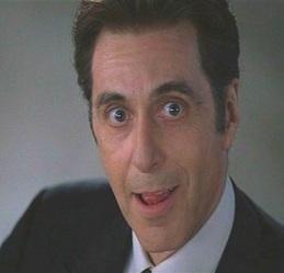 "Al Pacino in ""The Devil's Advocate"""
