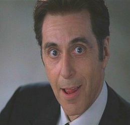 "Al Pacino in ""The Devil's Advocate"""