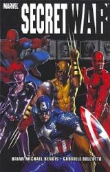 The cover of Marvel Comic's Secret War. It's a joke!