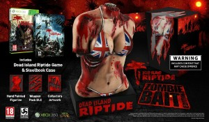 The Dead Island: Riptide Zombie Bait Collectors Edition.