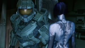 Halo 4's Master Chief and Cortana.