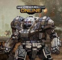 A picture of a mech from Mechwarrior Online.