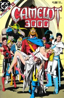 The cover of Camelot 3000, an old DC comic